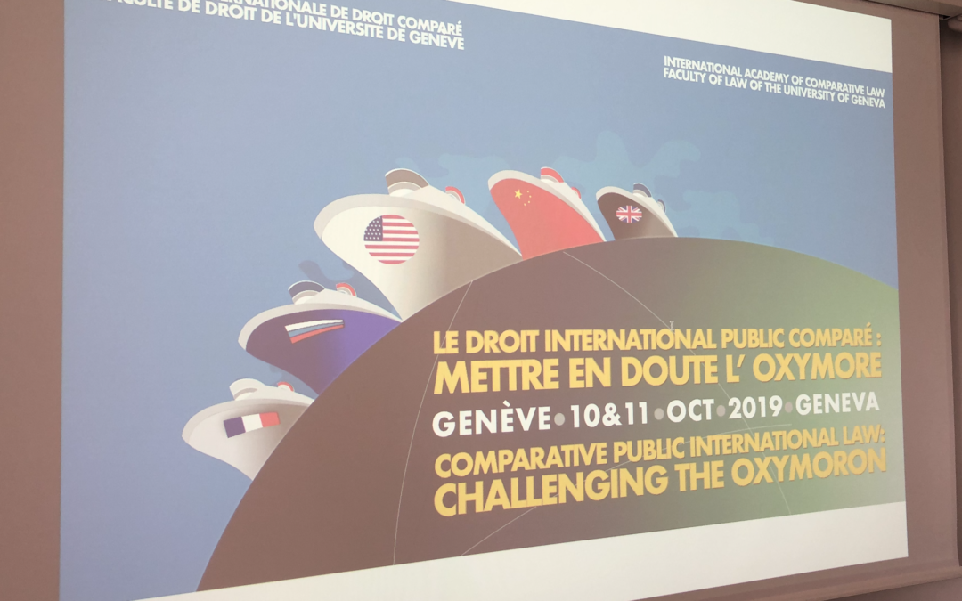 Conference report – 10-11 october 2019 – Comparative Public International Law